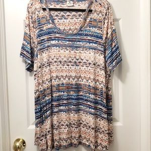 Penningtons 2X multi coloured tunic Top